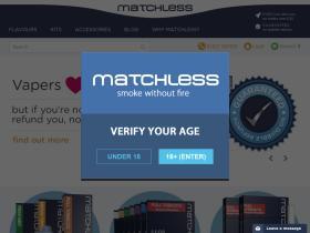 Matchless E Cig Discount Codes & Vouchers 2021
