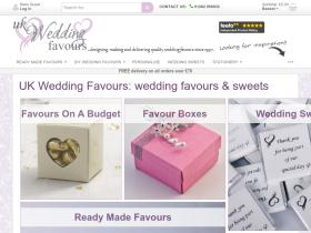 UK Wedding Favours Discount Codes